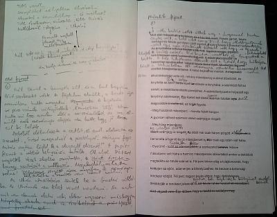 kézirat szerkesztése